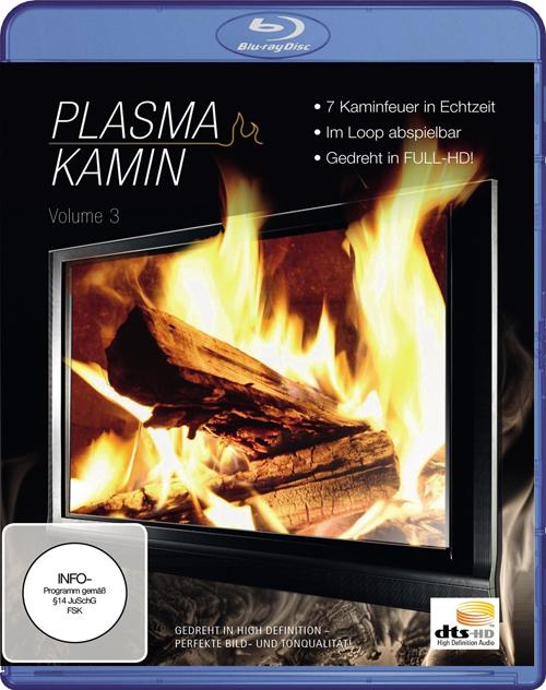 Плазма Камин HD. Часть 3 / Plasma Kamin HD Vol.3 (Саймон Буш / Simon Busch) [2010 г., релакс, Blu-Ray, 1080p]