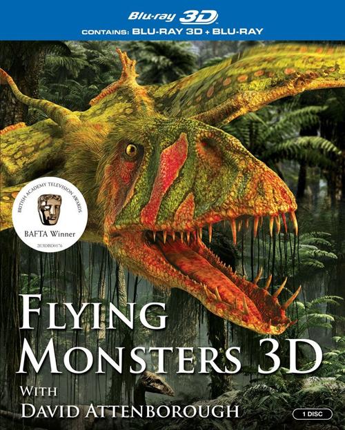 Крылатые монстры с Дэвидом Аттенборо / Flying Monsters with David Attenborough(Мэттью Диас / Matthew Dyas) [2011, Документальный, BDRip, 720p, 2D] AVO В.Курдов